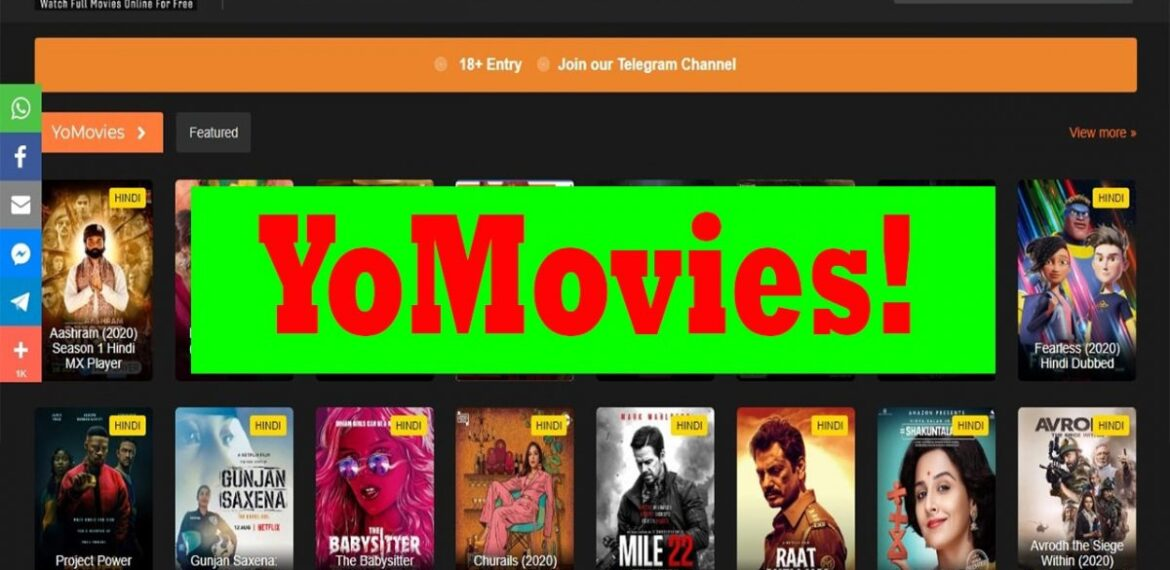 Yomovies 2020 – Illegal HD Movies Download Website